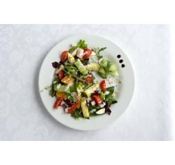 Зеленый салат с тыквой 224 Ккал