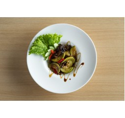 Говядина с овощами гриль и грибами Шитаке